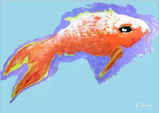 goldfish-wall-painting-mural-art