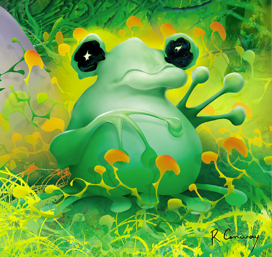 digital-illustration-frog-online-art