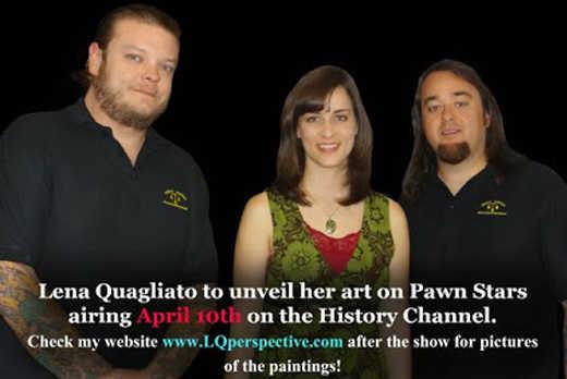 lena Quagliato on pawn stars